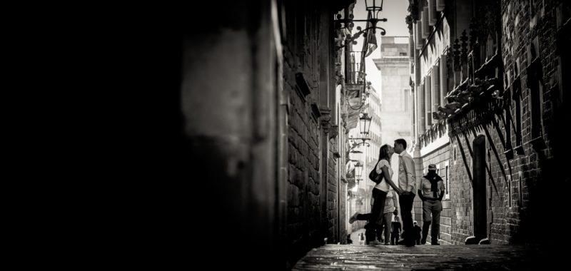 Preboda Urbano Barrio Gotico de Barcelona - Nuria & Jordi