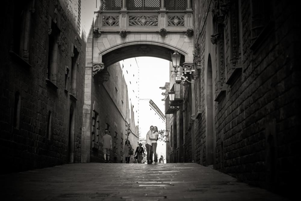 Fotografo Preboda urbano en Barcelona